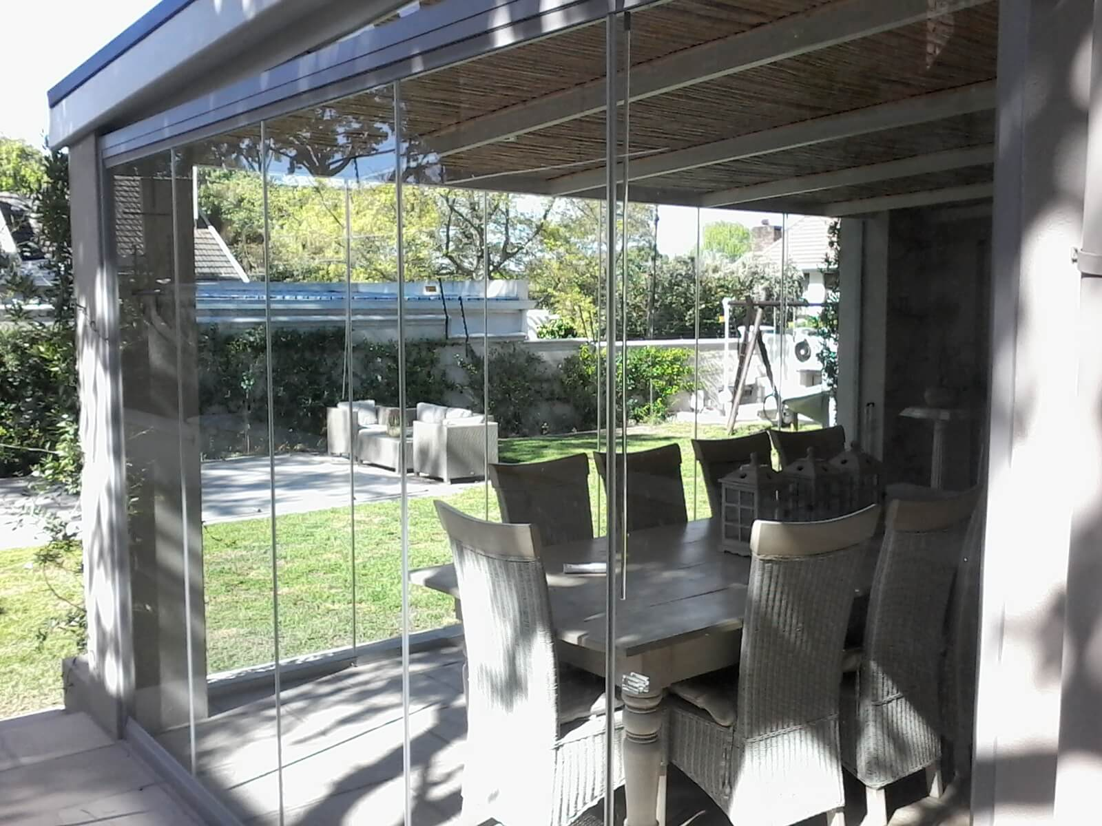 Frameless Glass Stacking Doors In Cape Town Weather